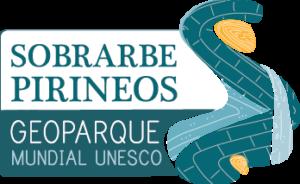 Logo del Geoparque Sobrarbe Pirineos patrimonio mundial Unesco